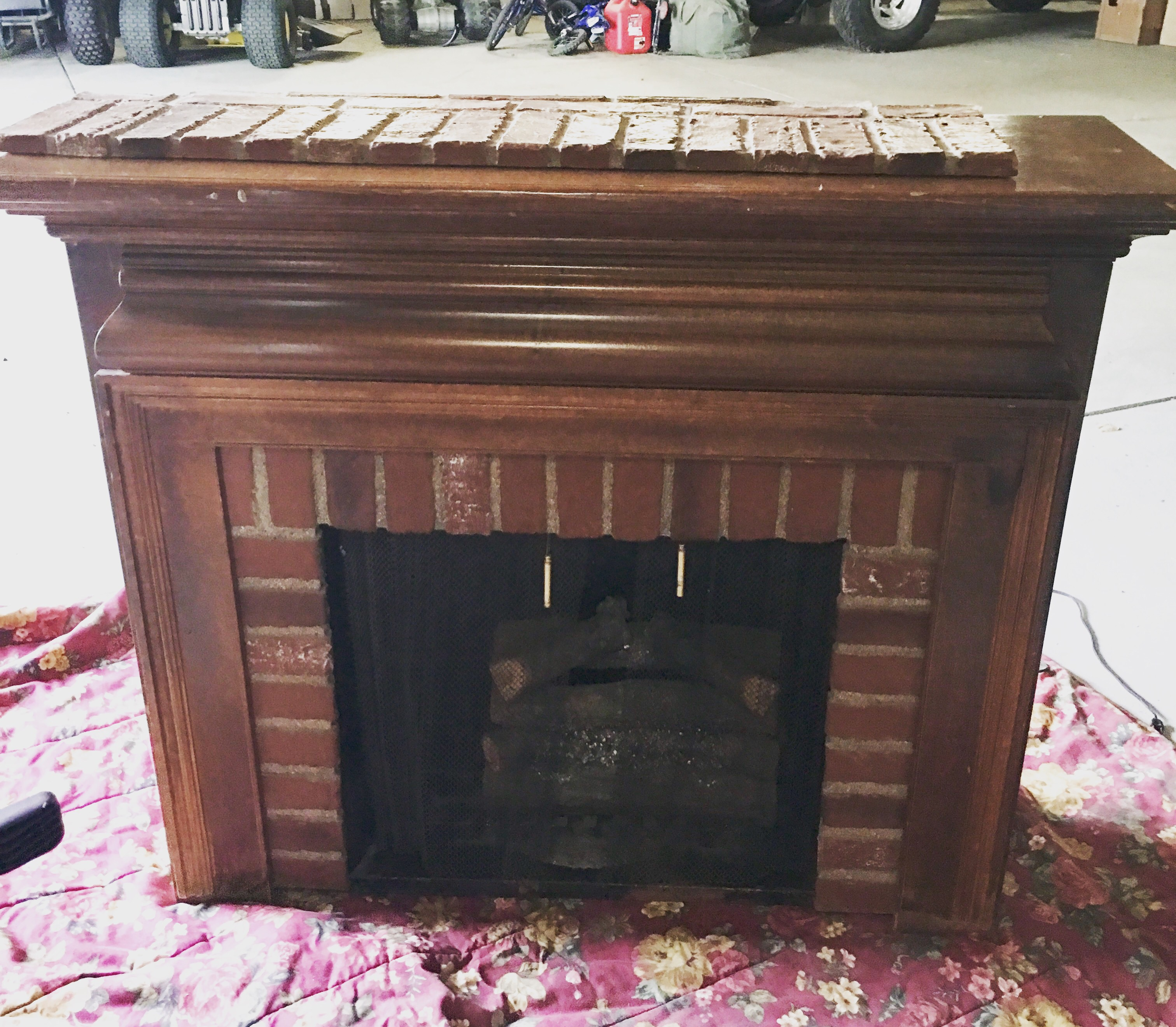 do not to build diy heres dear s mantel fireplace a or here how gas bad internet